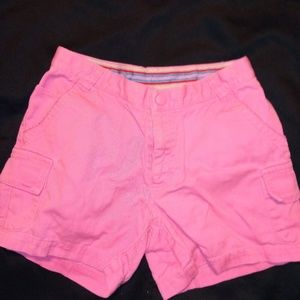Columbia Pink Cotton Short Sz 8